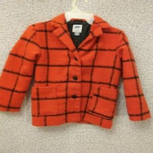 Darling red checkered winter jacket